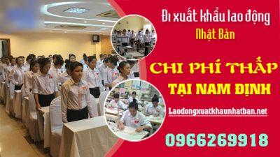 Top 3 công ty xuất khẩu lao động nhật bản tại Nam Định