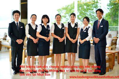 Tuyển 20 nam nữ kỹ sư kinh tế đi Nhật – đơn hàng nghiệp vụ khách sạn phỏng vấn tháng 3/2021