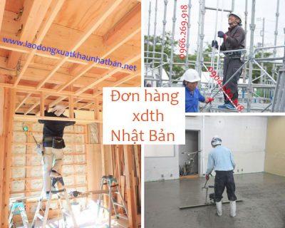 Đi lao động Nhật – đơn hàng xây dựng tổng hợp thi ngày 21/06/2020