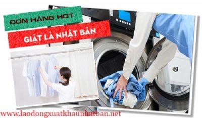 Đơn hàng giặt là xkld Nhật Bản tuyển 8 nam nữ lao động làm việc tại Nhật Bản
